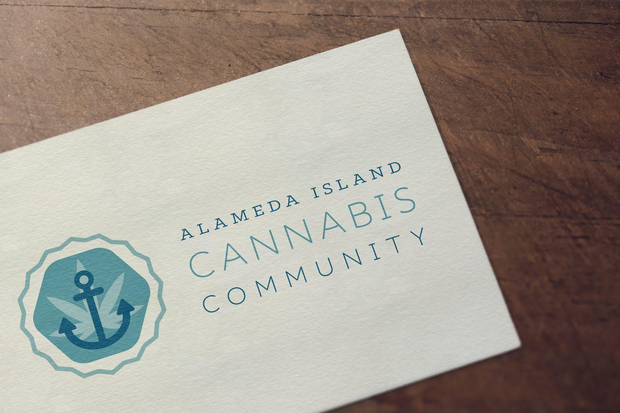 Cannawise designs Alameda Island Cannabis Community Logo